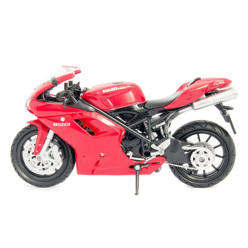 Ducati 1198 Diecast Model Motorcycle - 1:12 Scale-NewRay-Diecast Model Centre