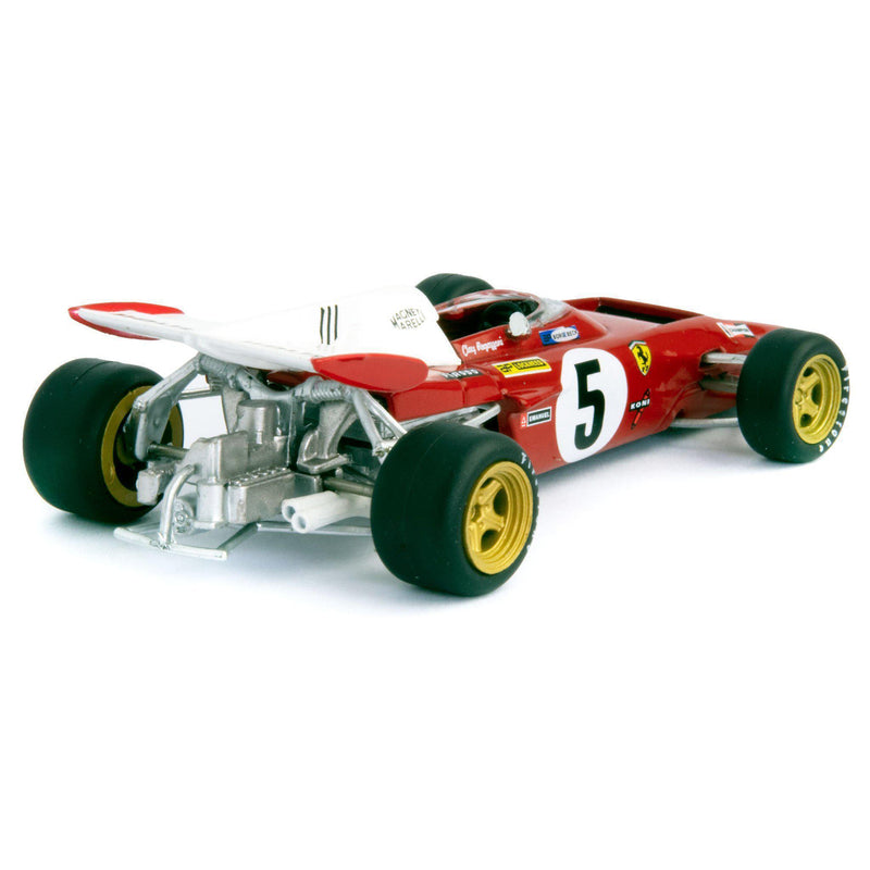 Ferrari 312B2 Diecast Model Car F1 1971 Regazzoni - 1:43 Scale-Atlas Editions-Diecast Model Centre