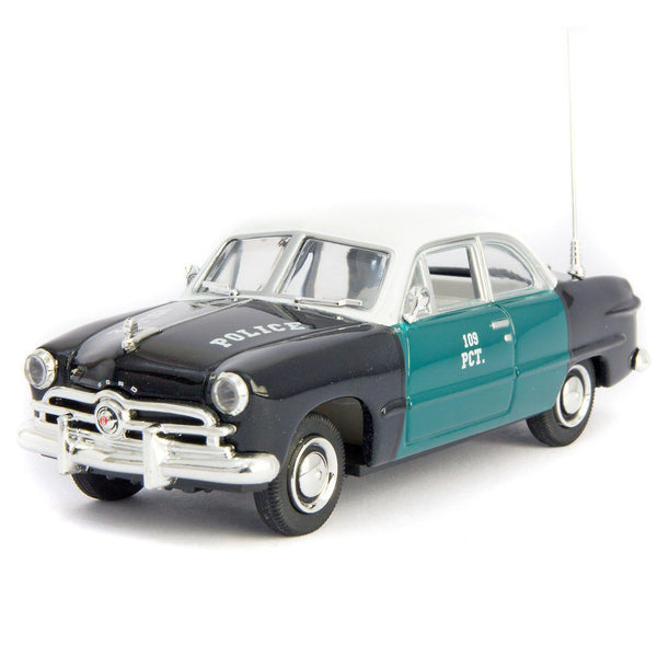 Ford 1949 Diecast Model Car New York Police - 1:43 Scale-GreenLight-Diecast Model Centre
