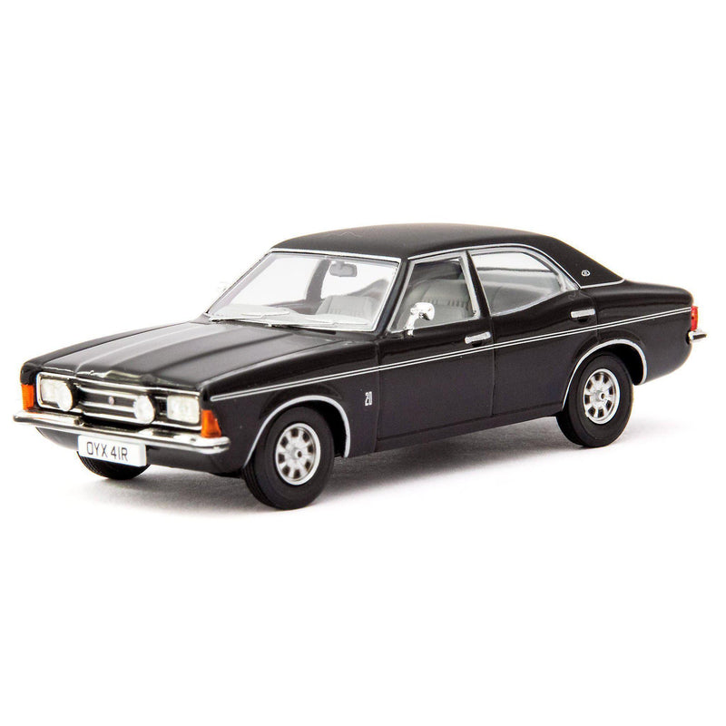 Ford Cortina MkIII 2000E Diecast Model Car black - 1:43 Scale-Corgi-Diecast Model Centre