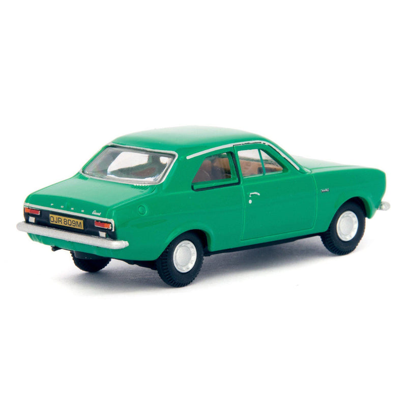 Ford Escort Mk1 Diecast Model Car green - 1:76 Scale-Oxford Diecast-Diecast Model Centre