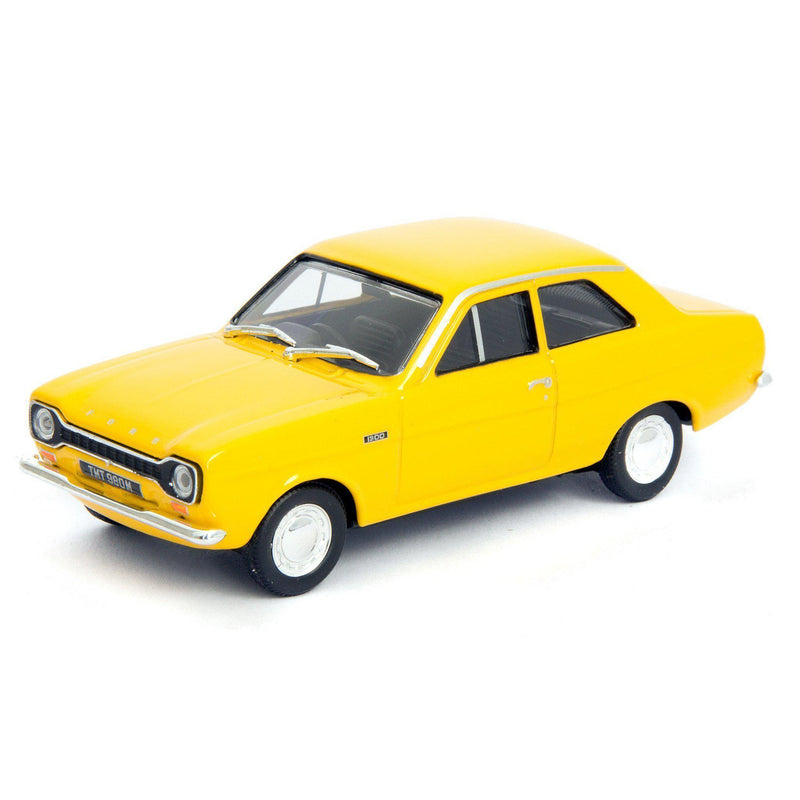 Ford Escort Mk1 Diecast Model Car yellow - 1:43 Scale-Cararama-Diecast Model Centre