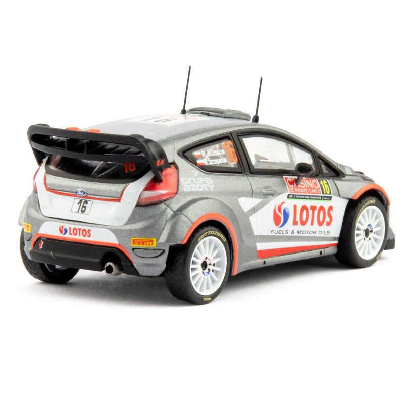 Ford Fiesta RS WRC Diecast Model Car Monte Carlo 2015 Kubica - 1:43 Scale-Unbranded-Diecast Model Centre