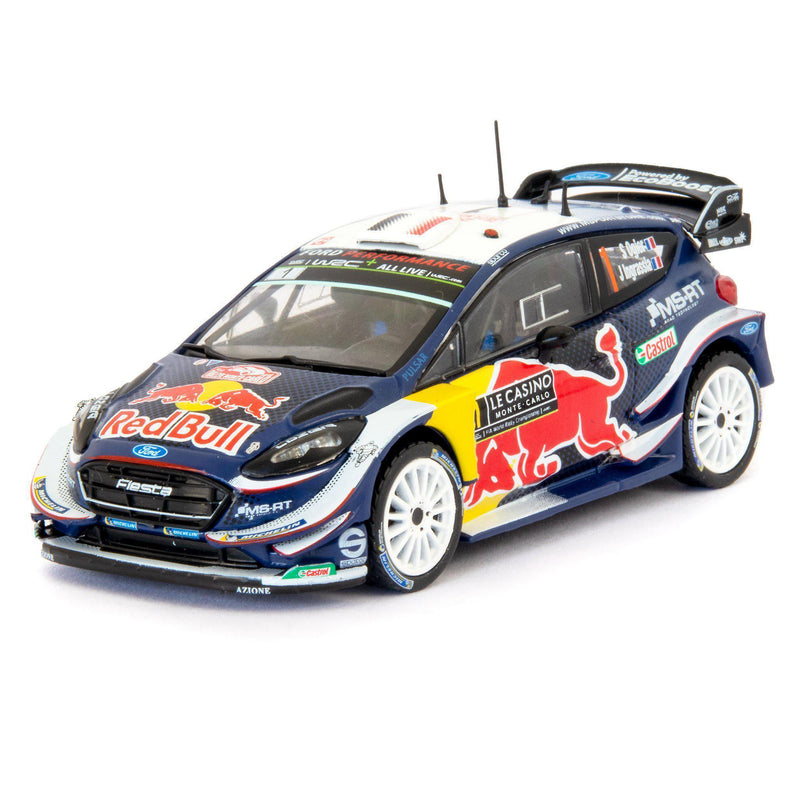 Ford Fiesta WRC Diecast Model Car Monte Carlo 2018 Ogier - 1:43 Scale-Altaya-Diecast Model Centre