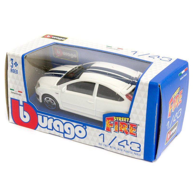 Ford Focus ST Diecast Toy Car - 1:43 Scale-Bburago-Diecast Model Centre