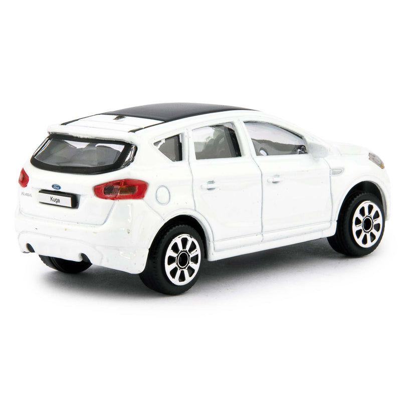 Ford Kuga Diecast Toy Car white - 1:43 Scale-Bburago-Diecast Model Centre