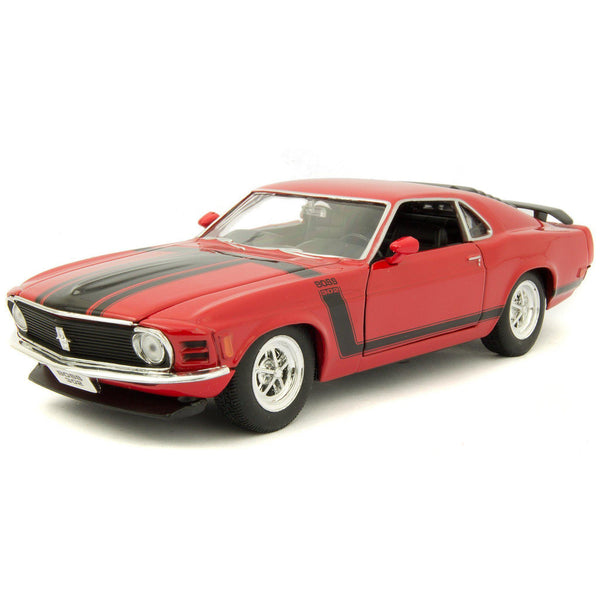 Ford Mustang Boss 302 Diecast Model Car 1970 - 1:24 Scale-Welly-Diecast Model Centre