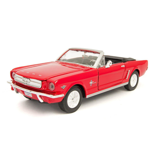 Ford Mustang Convertible Diecast Model Car 1964 - 1:24 Scale-Motormax-Diecast Model Centre