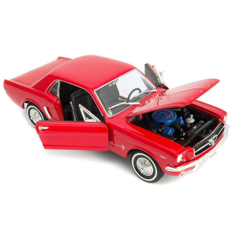 Ford Mustang Coupe Diecast Model Car 1964 - 1:24 Scale-Welly-Diecast Model Centre