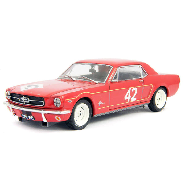 Ford Mustang Diecast Model Car BTCC 1965 Pierpoint - 1:43 Scale-Atlas Editions-Diecast Model Centre