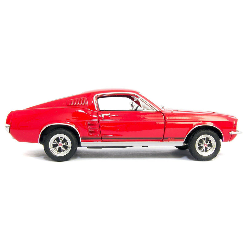 Ford Mustang GT Diecast Model Car 1967 - 1:24 Scale-Welly-Diecast Model Centre