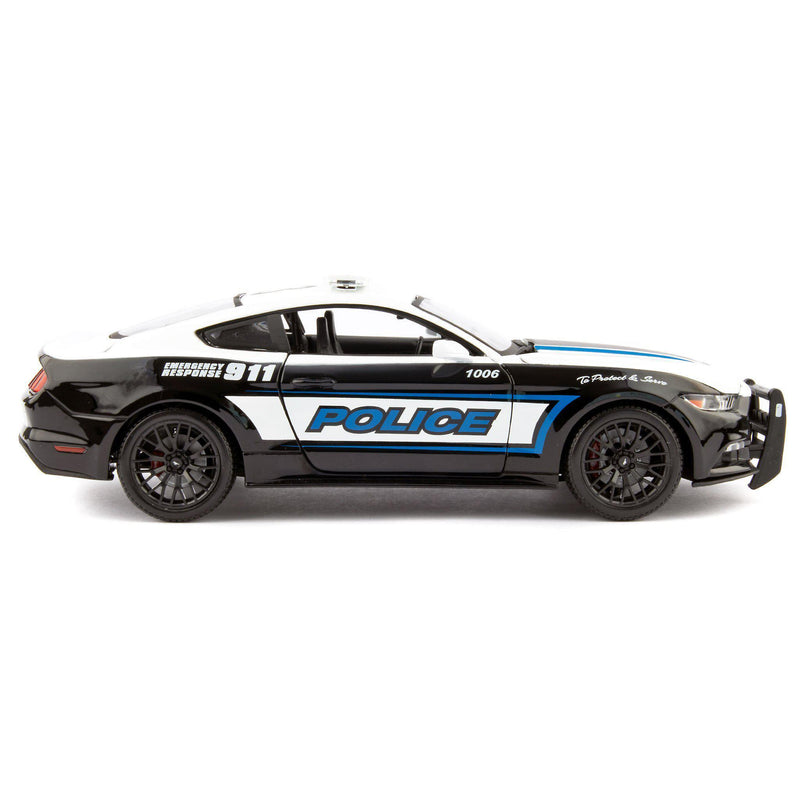 Ford Mustang GT Diecast Model Car 2015 Police - 1:18 Scale-Maisto-Diecast Model Centre