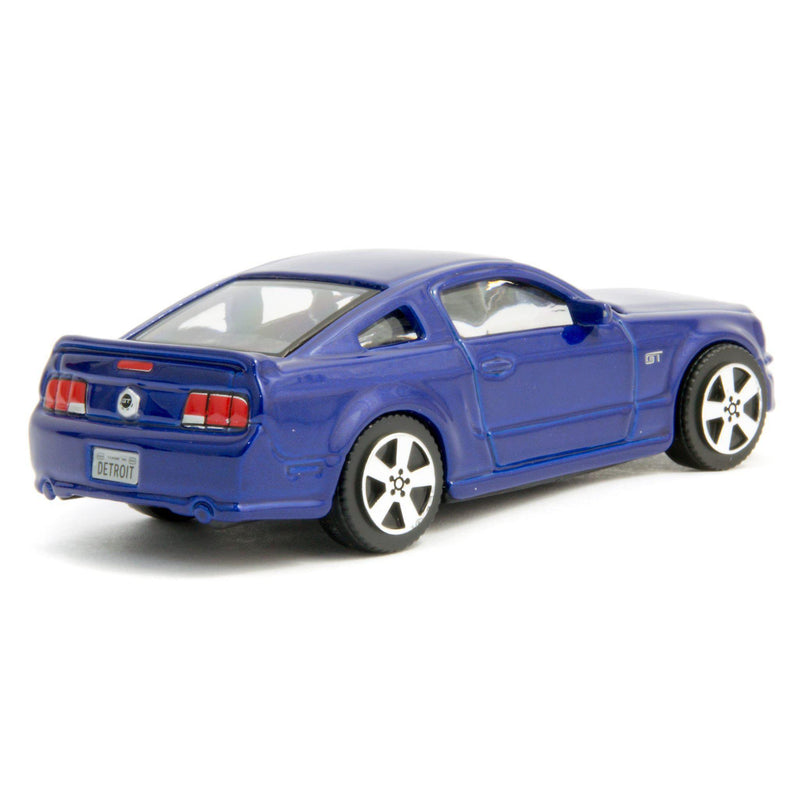 Ford Mustang GT Diecast Toy Car blue - 1:43 Scale-Bburago-Diecast Model Centre