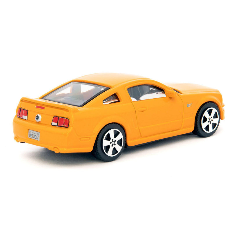Ford Mustang GT Diecast Toy Car orange - 1:43 Scale-Bburago-Diecast Model Centre