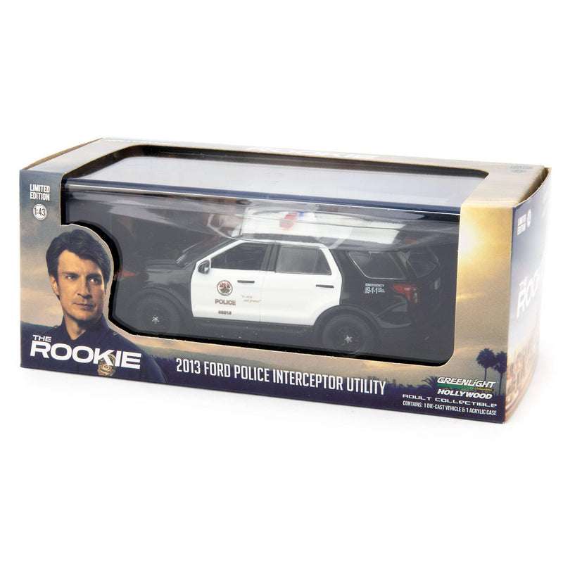 Ford Police Interceptor Utility Diecast Model Car 2013 The Rookie - 1:43 scale-GreenLight-Diecast Model Centre