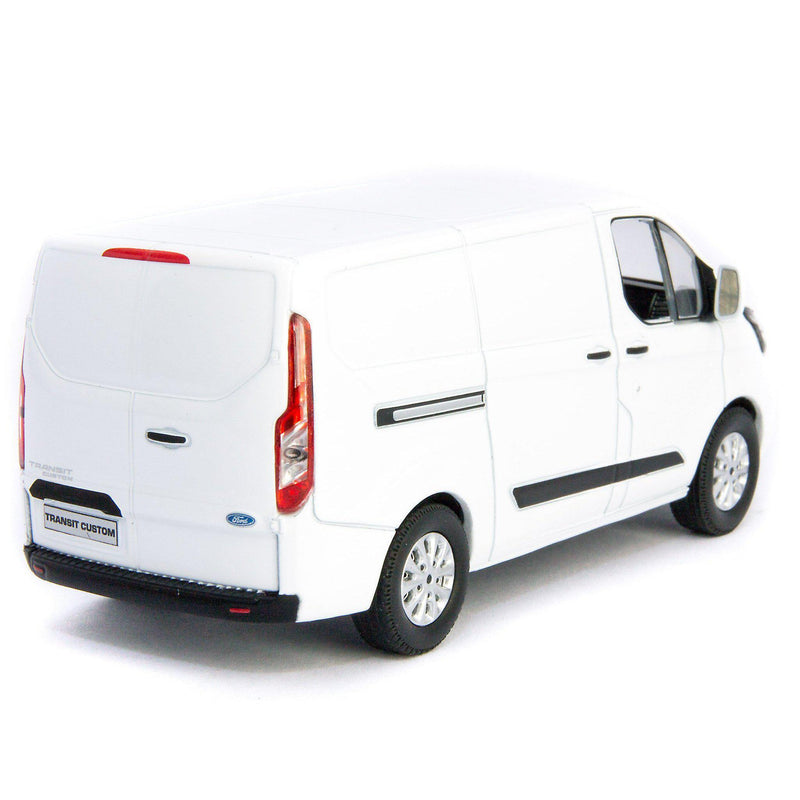 Ford Transit Custom V362 MCA Diecast Model Van 2018 - 1:43 Scale-GreenLight-Diecast Model Centre