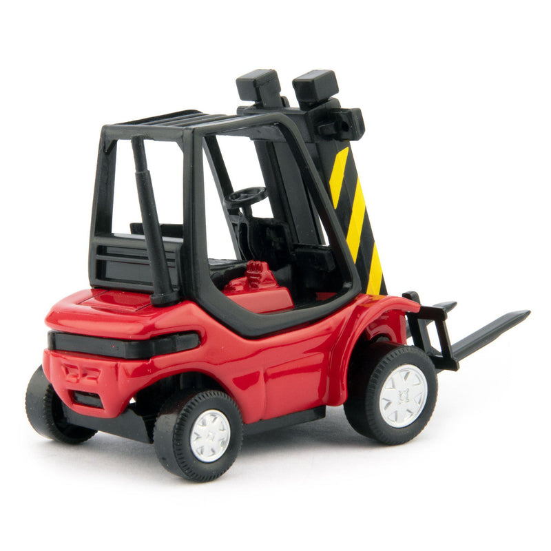 Forklift Truck Diecast Model red - 1:43 Scale-Cararama-Diecast Model Centre