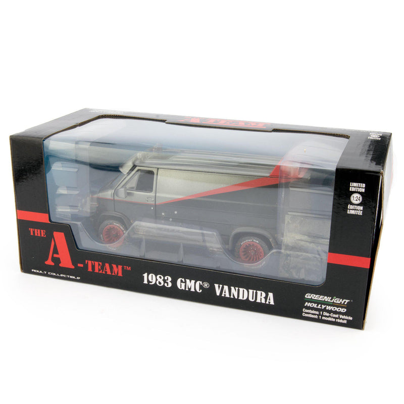 GMC Vandura Diecast Model Van 1983 The A-Team- 1:24 scale-GreenLight-Diecast Model Centre