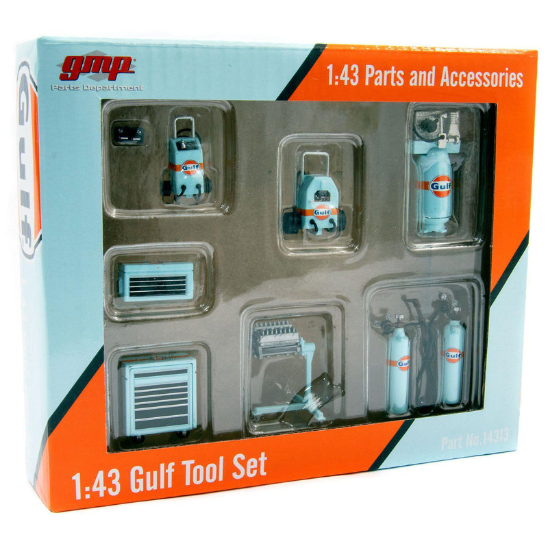 Gulf Tool Set - 1:43 scale-GMP-Diecast Model Centre