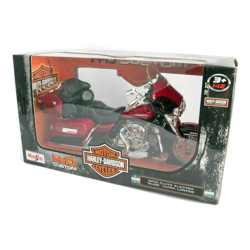Harley-Davidson FLHTK Electra Glide Ultra Limited Diecast Model Motorcycle 2013 - 1:12 Scale-Maisto-Diecast Model Centre