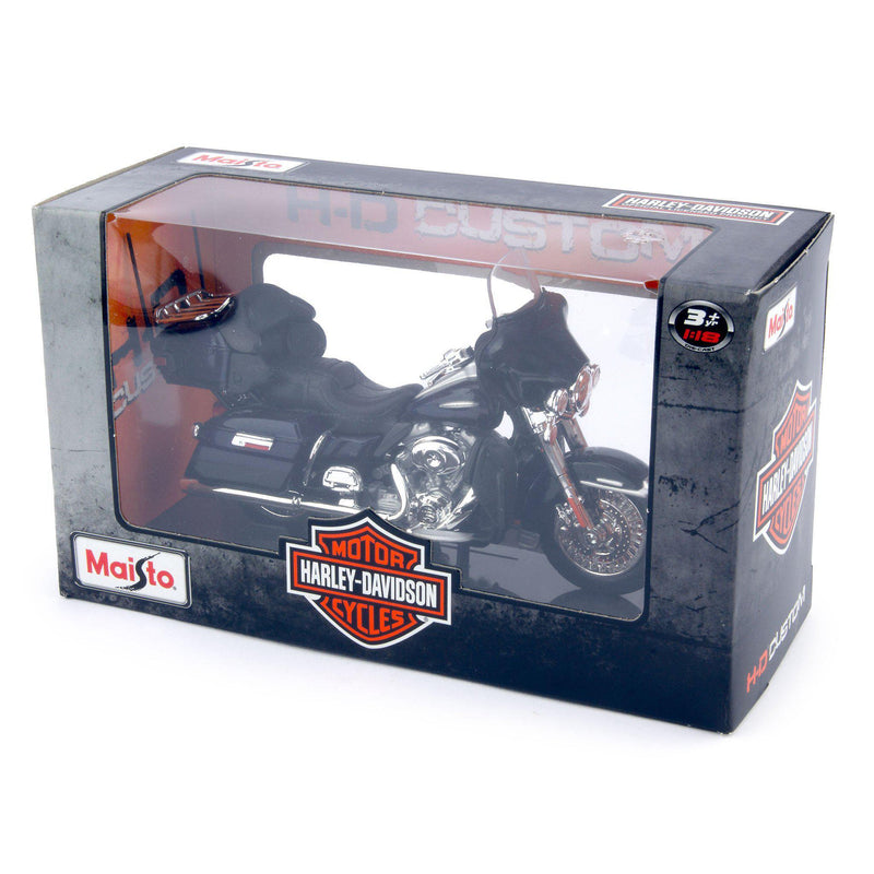 Harley-Davidson FLHTK Electra Glide Ultra Limited Diecast Model Motorcycle 2013 blue - 1:18 scale-Maisto-Diecast Model Centre