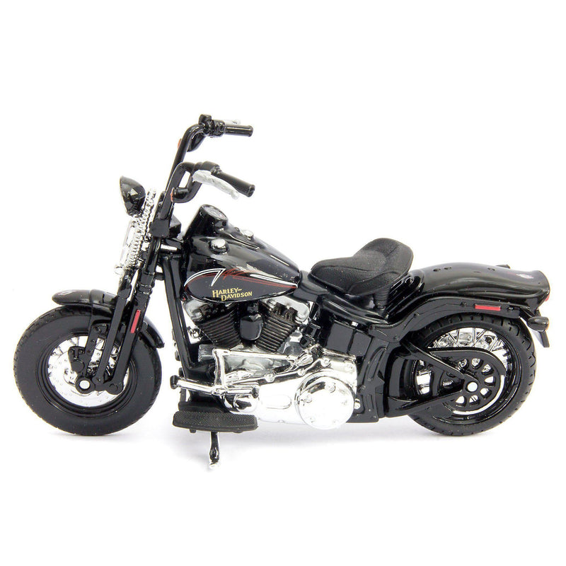 Harley-Davidson FLSTSB Cross Bones Diecast Model Motorcycle - 1:18 scale-Maisto-Diecast Model Centre
