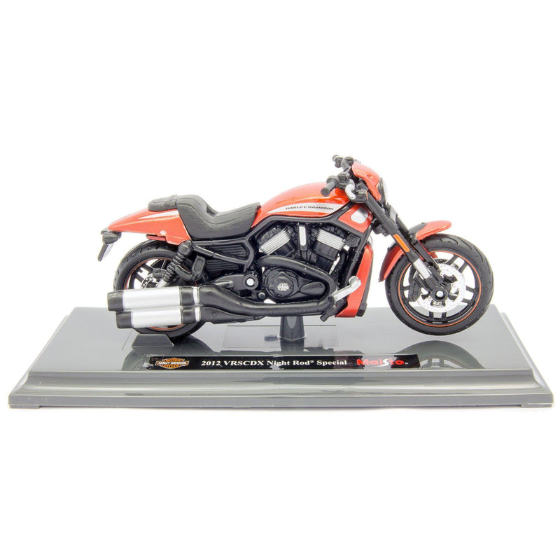 Harley-Davidson VRSCDX Night Rod Special Diecast Model Motorcycle 2012 red - 1:18 scale-Maisto-Diecast Model Centre