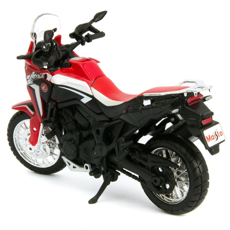 Honda Africa Twin DCT Diecast Model Motorcycle - 1:18 Scale-Maisto-Diecast Model Centre