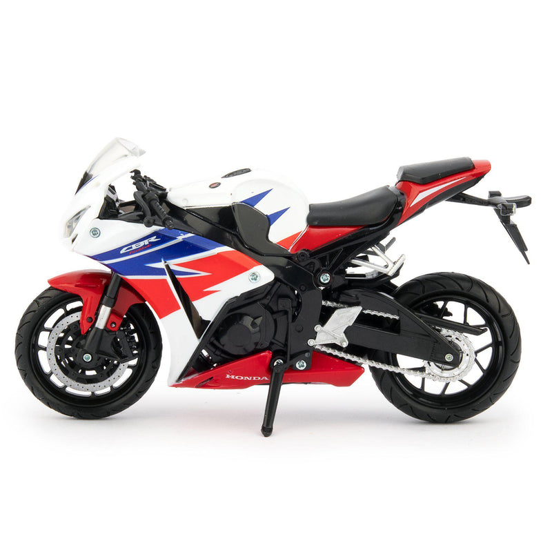 Honda CBR 1000RR Fireblade Diecast Model Motorcycle 2015 red/white/blue - 1:12 Scale-NewRay-Diecast Model Centre