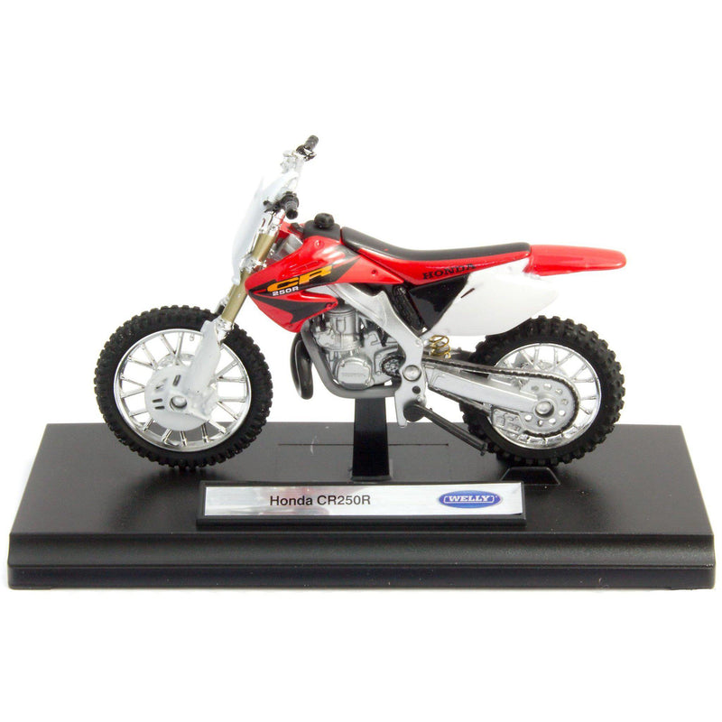 Honda CR250R Diecast Model Motorcycle - 1:18 Scale-Welly-Diecast Model Centre