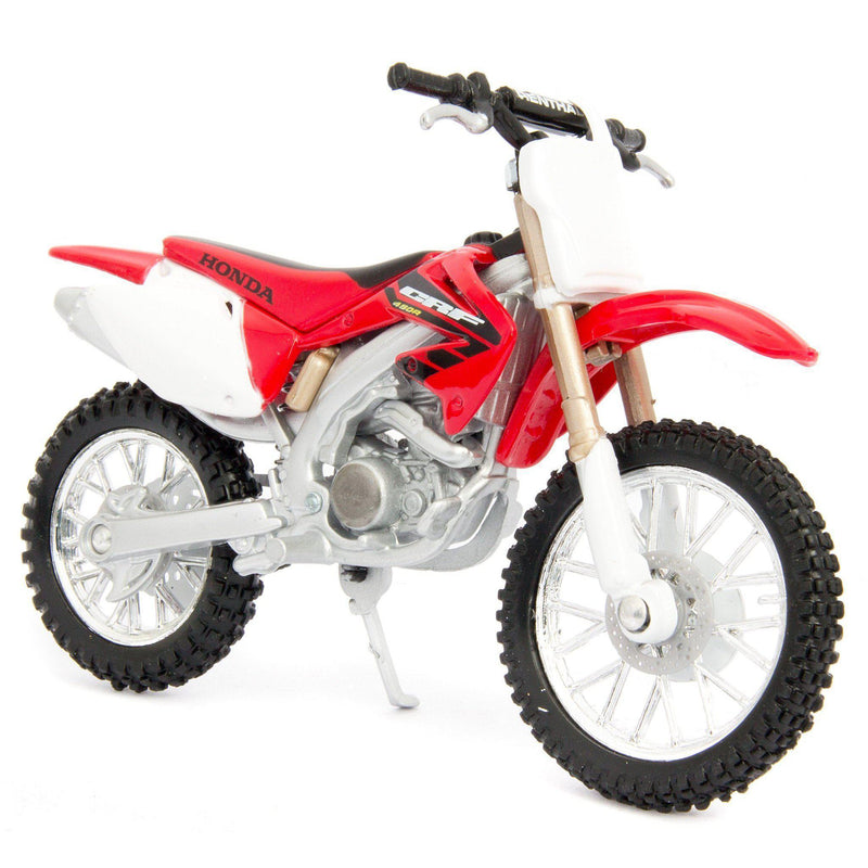 Honda CRF450R Diecast Model Motorcycle - 1:18 Scale-Bburago-Diecast Model Centre