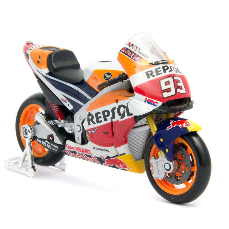 Honda RC213V Repsol Diecast Model Motorcycle 2018 - 1:18 Scale-Maisto-Diecast Model Centre