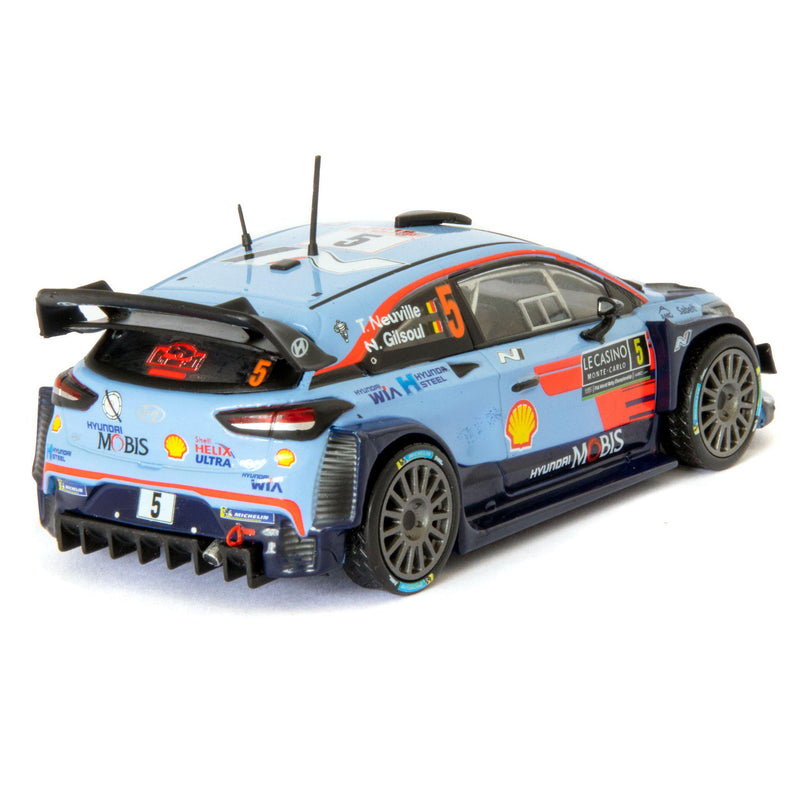 Hyundai i20 Coupe WRC Diecast Model Car Monte Carlo 2018 Neuville - 1:43 Scale-Altaya-Diecast Model Centre