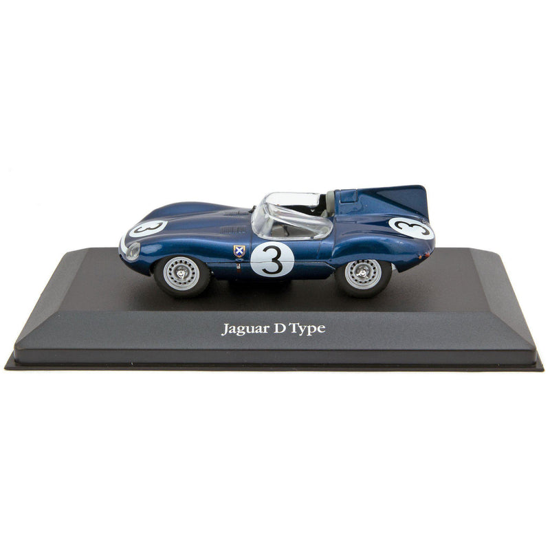 Jaguar D-Type Ecurie Ecosse Diecast Model Car