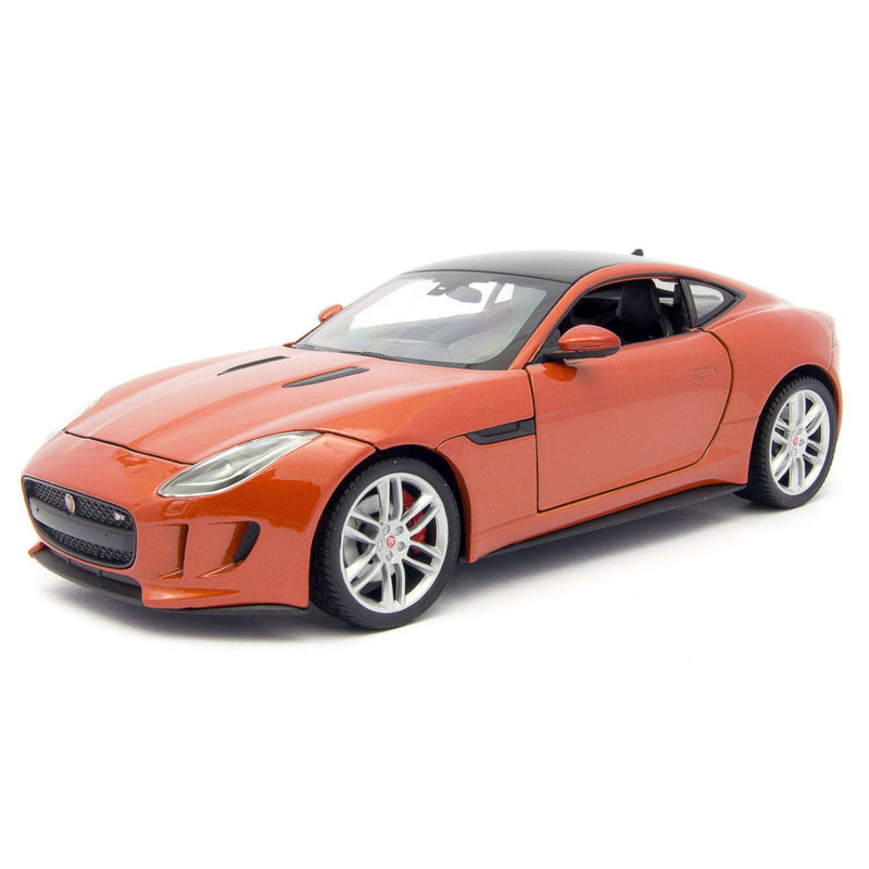 Jaguar F-Type Coupe Diecast Model Car - 1:24 Scale-Welly-Diecast Model Centre