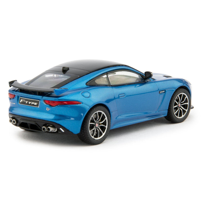 Jaguar F-Type SVR Diecast Model Car 2016 blue - 1:43 Scale-IXO-Diecast Model Centre