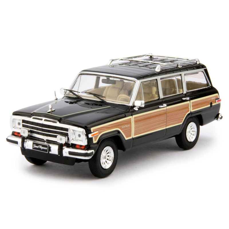 Jeep Grand Wagoneer Diecast Model Car 1989 black - 1:43 Scale-IXO-Diecast Model Centre
