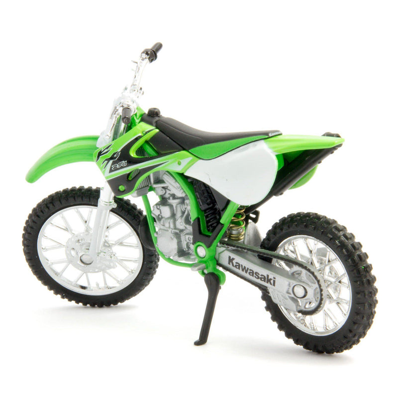 Kawasaki KX250 Diecast Model Motorcycle 2002 - 1:18 Scale-Welly-Diecast Model Centre
