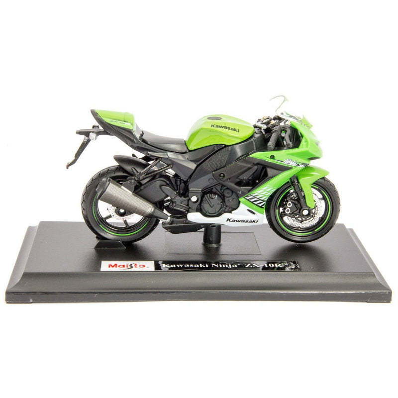 Kawasaki Ninja ZX-10R Diecast Model Motorcycle - 1:18 Scale-Maisto-Diecast Model Centre