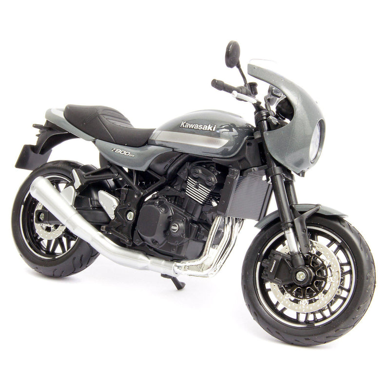 Kawasaki Z900RS Cafe Diecast Model Motorcycle 2019 grey - 1:12 Scale-Maisto-Diecast Model Centre