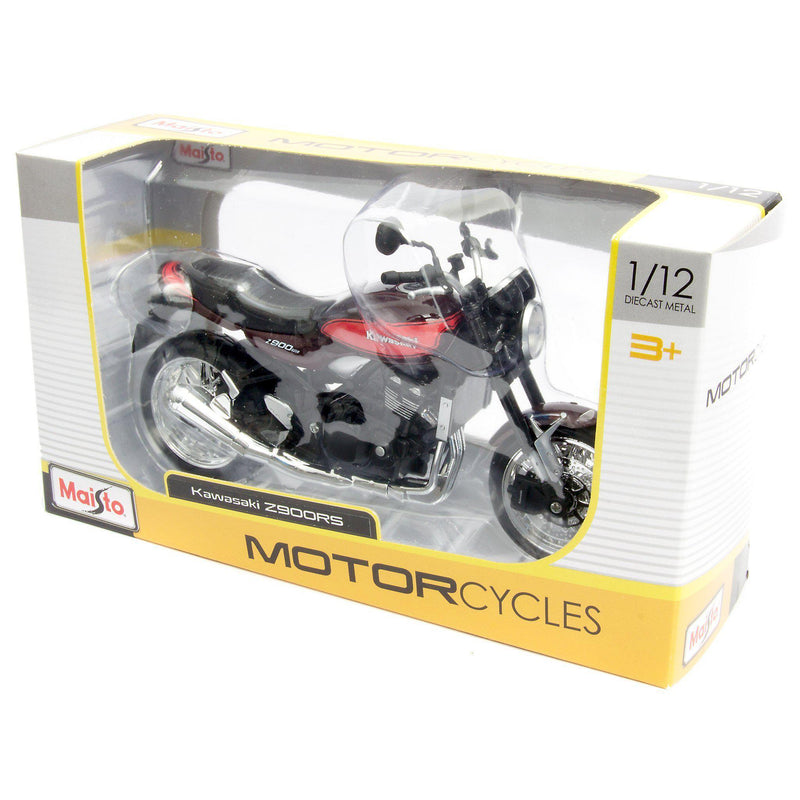 Kawasaki Z900RS Diecast Model Motorcycle 2019 black - 1:12 Scale-Maisto-Diecast Model Centre