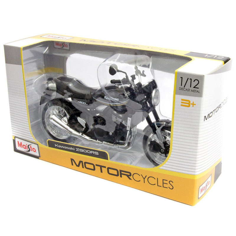 Kawasaki Z900RS Diecast Model Motorcycle 2019 brown - 1:12 Scale-Maisto-Diecast Model Centre
