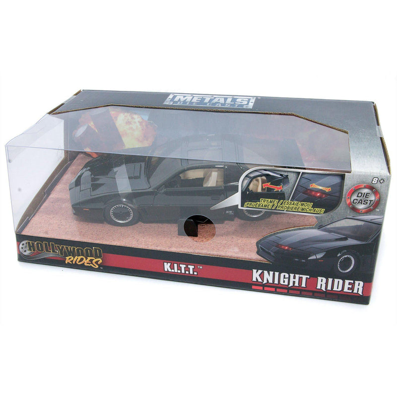 Knight Rider KITT Diecast Model Car - 1:24 scale-Jada-Diecast Model Centre