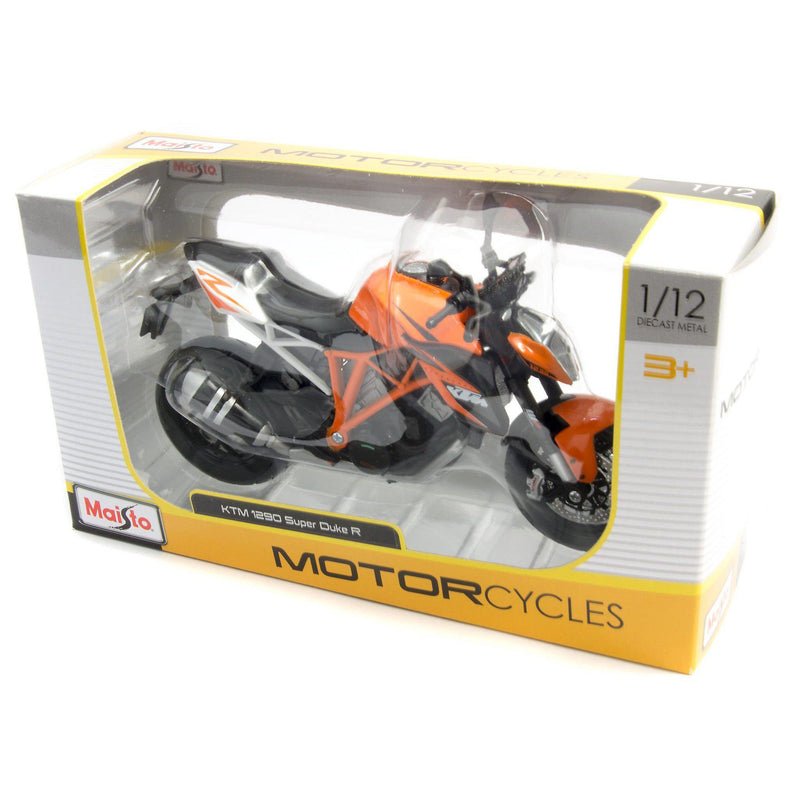 KTM 1290 Super Duke R Diecast Model Motorcycle 2014 - 1:12 Scale-Maisto-Diecast Model Centre
