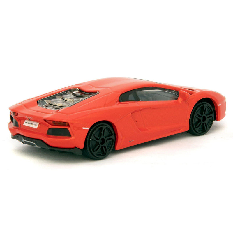 Lamborghini Aventador LP 700-4 Diecast Toy Car orange - 1:43 Scale-Bburago-Diecast Model Centre