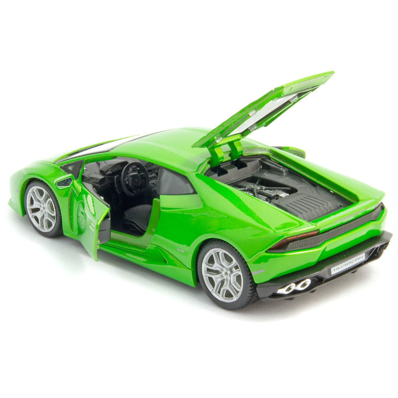 Lamborghini Huracan LP 610-4 Diecast Model Car green - 1:24 Scale-Maisto-Diecast Model Centre