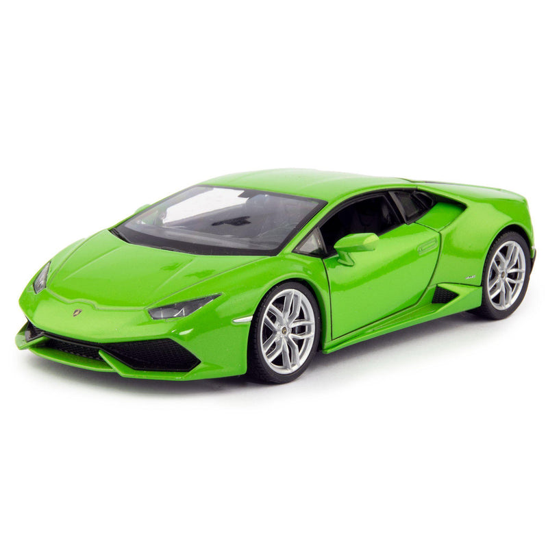 Lamborghini Huracan LP 610-4 Diecast Model Car green - 1:24 Scale-Welly-Diecast Model Centre