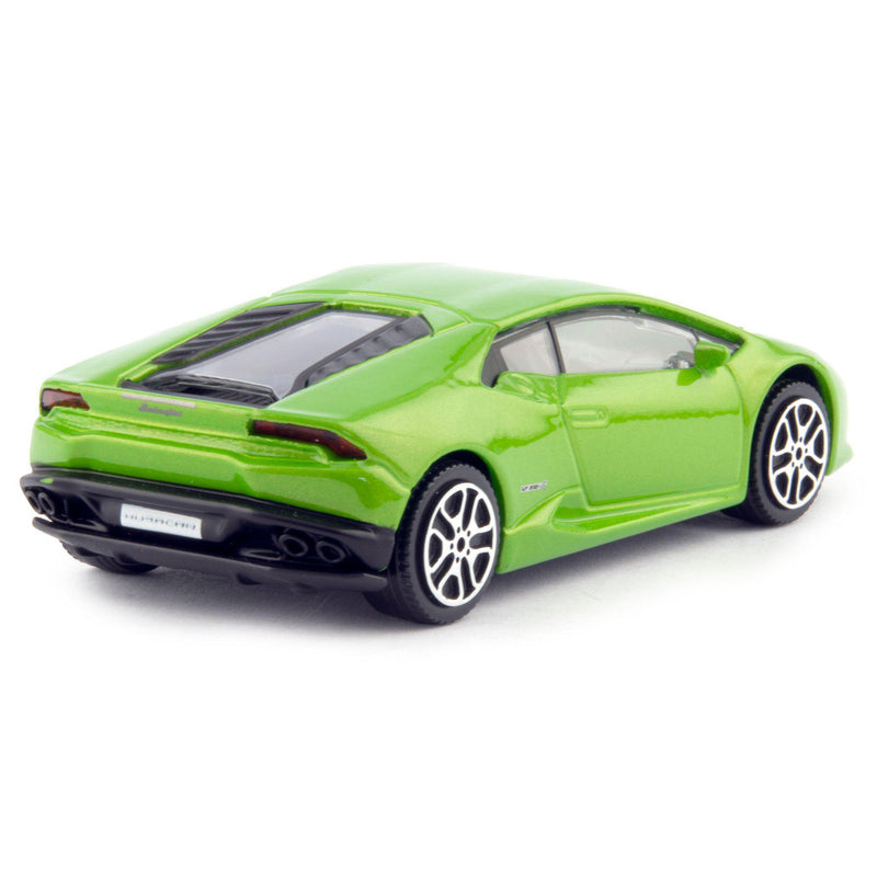 Lamborghini Huracan LP 610-4 Diecast Toy Car green - 1:43 Scale-Bburago-Diecast Model Centre