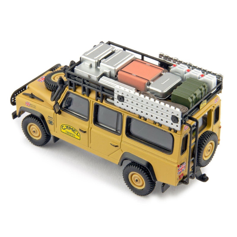 Land Rover Defender 110 Diecast Model Car Camel Trophy Winner 1989 UK - 1:64 Scale-TrueScale Miniatures-Diecast Model Centre