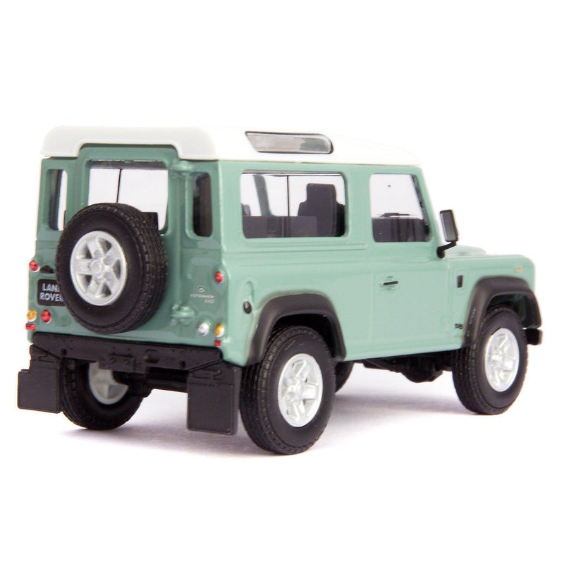 Land Rover Defender 90 Diecast Model Car green - 1:43 Scale-Cararama-Diecast Model Centre